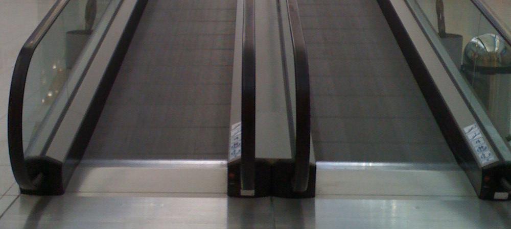 Снимка на ескалатор