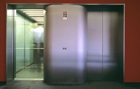 photo of an elevator